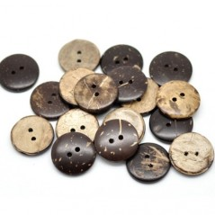 Botón Coco Rústico