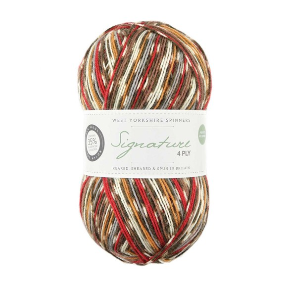WYS Signature 4 Ply - Robin 941
