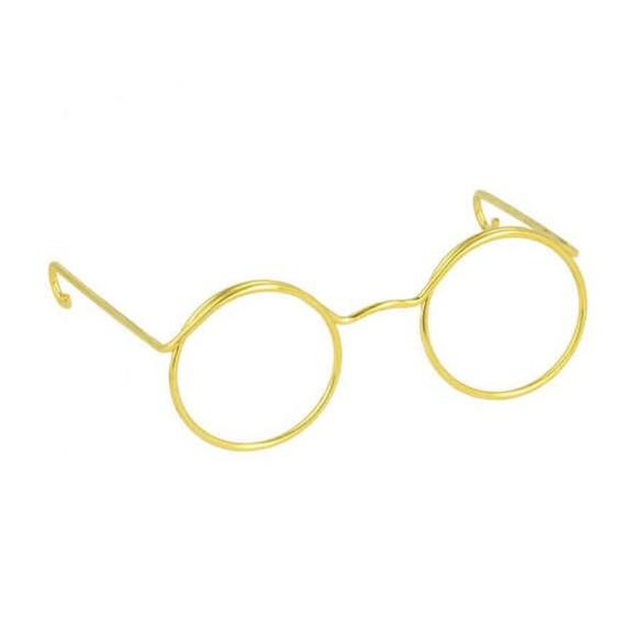 Gafas para Amigurumis Doradas