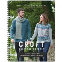 """WYS""""The Croft Shetland Country"""" Libro de Patrones"""