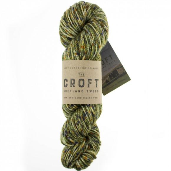 WYS The Croft - Shetland Tweed Aran - 757 Mossbank