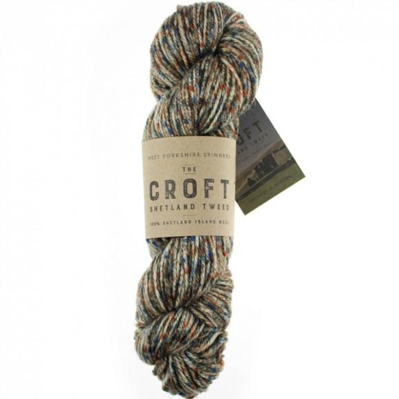 WYS The Croft - Shetland Tweed Aran - 759 Stonybreck