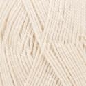 DROPS BabyAlpaca Silk Uni Colour 0100 blanco hueso