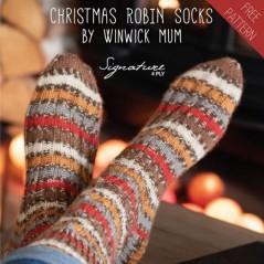 """Patrón """"Robin Socks"""""""