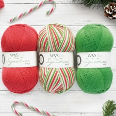 WYS Signature 4 Ply - Christmas Candy Cane