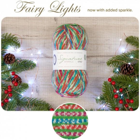 WYS Signature 4 Ply - Christmas Fairy Lights (Brilli-brilli)