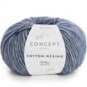 Katia Concept Cotton Merino 115 tejano