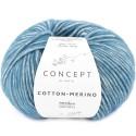 Katia Concept Cotton Merino 133 azul