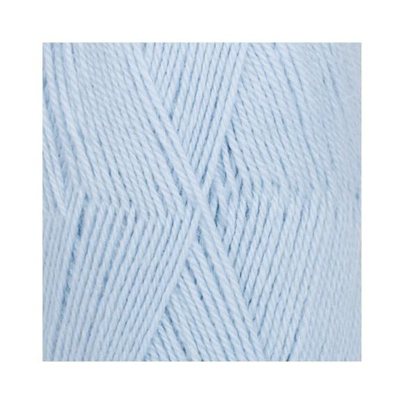 DROPS Flora Uni Colour 14 azul glaciar