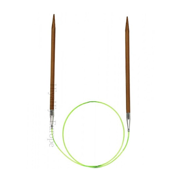 HiyaHiya Aguja Circular Fija Bambú