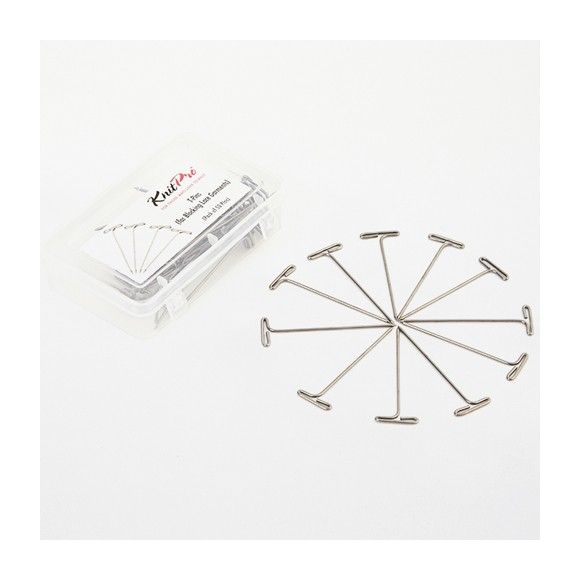 KnitPro T-Pins para Bloqueo
