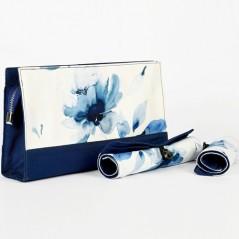 KnitPro Blossom - Bolsa para Labores con Estuches Enrollables