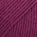 DROPS Cotton Merino 07 borgoña