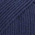DROPS Cotton Merino 08 azul marino