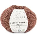 Katia Concept Cotton Merino Tweed 500 rojizo