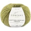 Katia Concept Cotton Merino Tweed 502 verde