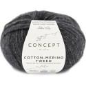 Katia Concept Cotton Merino Tweed 503 gris oscuro