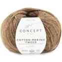 Katia Concept Cotton Merino Tweed 505 marrón