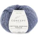 Katia Concept Cotton Merino Tweed 508 azul
