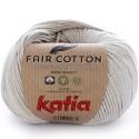 Katia Fair Cotton 11 gris claro perlado