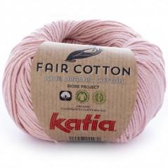 Katia Fair Cotton 13 rosa claro