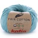 Katia Fair Cotton 16 turquesa