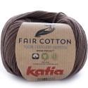 Katia Fair Cotton 25 marrón
