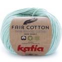 Katia Fair Cotton 29 verde blanquecino