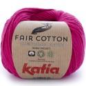 Katia Fair Cotton 32 rojo frambuesa