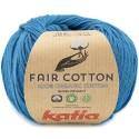 Katia Fair Cotton 38 azul verdoso