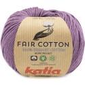 Katia Fair Cotton 39 malva oscuro