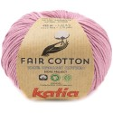 Katia Fair Cotton 40 malva claro