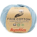 Katia Fair Cotton 41 azul grisáceo