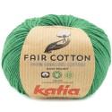 Katia Fair Cotton 42 verde botella
