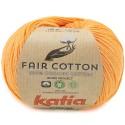 Katia Fair Cotton 43 naranja pálido