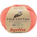 Katia Fair Cotton 44 naranja salmón
