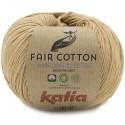 Katia Fair Cotton 45 marrón claro