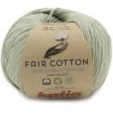 Katia Fair Cotton 46 verde pálido