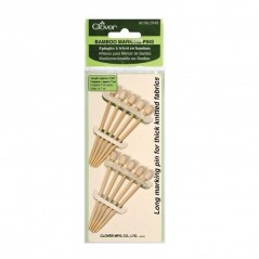 Clover Alfileres para Marcar de Bambú