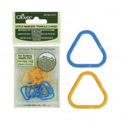 Clover Marcadores Triangulares de Puntos (Grande)